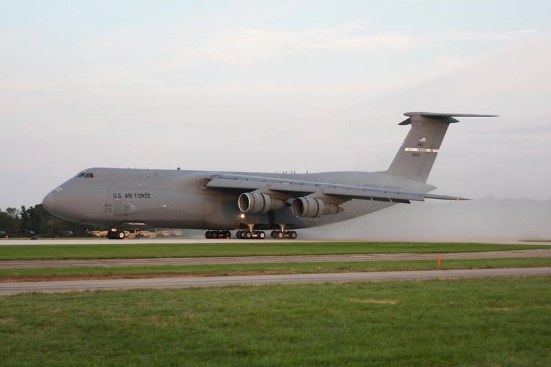 "68-0213 Lockheed C-5C Galaxy ""United States Air Force"" c/n 500-0016 Oshkosh/KOSH/OSH 29-07-10"