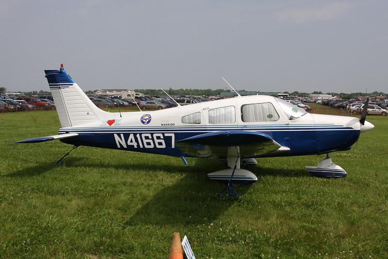 N41667 Piper PA-28-151 Warrior c/n 28-7415116 Oshkosh/KOSH/OSH 30-07-10