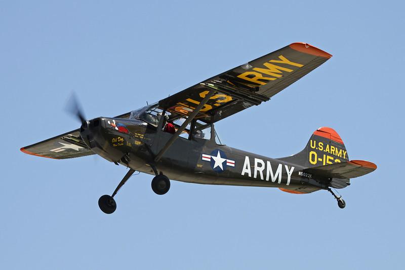N5022K (0-1524) Cessna L-19A Bird Dog c/n 21198 Oshkosh/KOSH/OSH 29-07-10