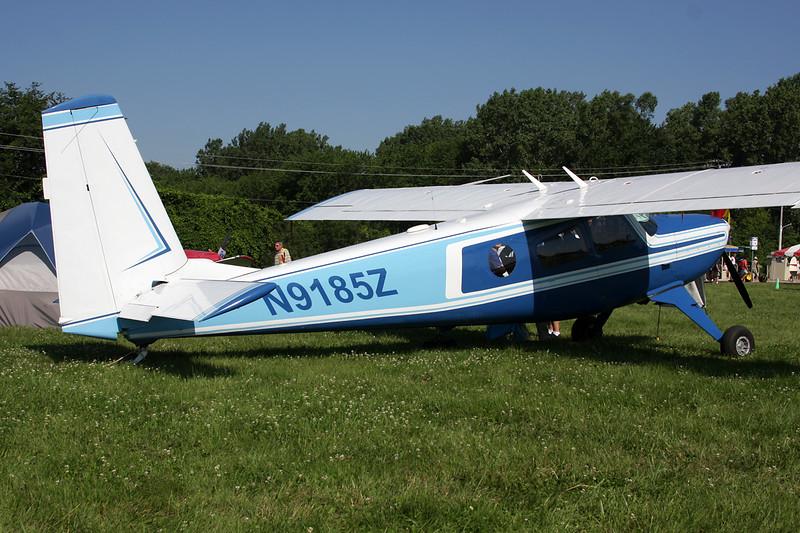 N9185Z Helio H.295 Super Courier c/n 1228 Oshkosh/KOSH/OSH 29-07-10
