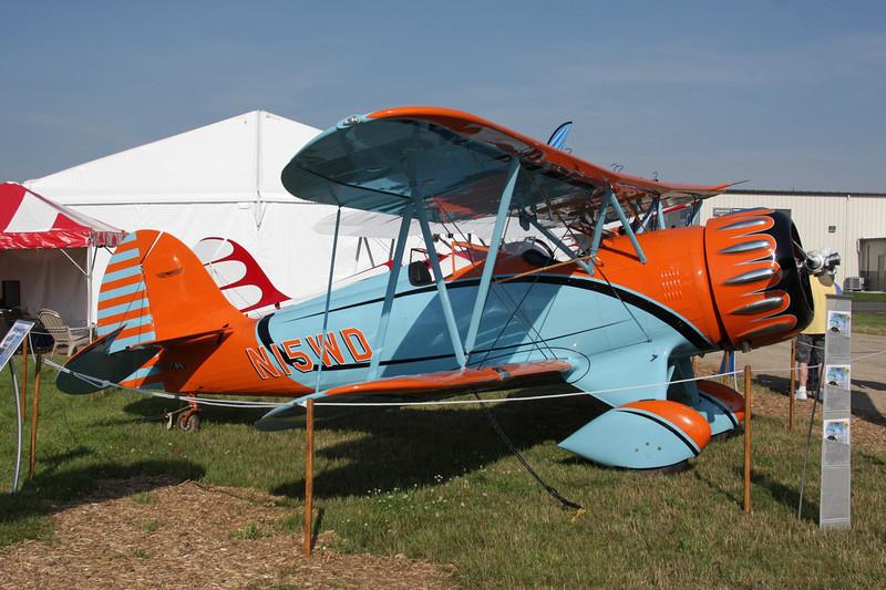 N15WD Classic Aircraft Corp YMF-5C Waco Super YMF c/n F5C-123 Oshkosh/KOSH/OSH 27-07-10