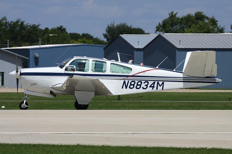 N8834M Beech S.35 Bonanza c/n D-7352 Oshkosh/KOSH/OSH 28-07-10