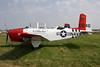 N34SY (0246) Beech T-34B Mentor c/n BG-246 Oshkosh/KOSH/OSH 30-07-10