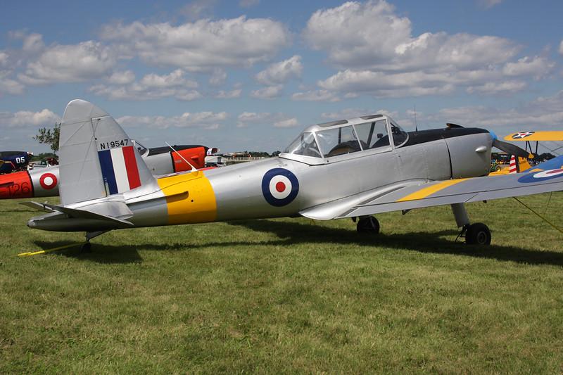 N19547 de Havilland DHC-1 Chipmunk 22A Oshkosh/KOSH/OSH 28-07-10