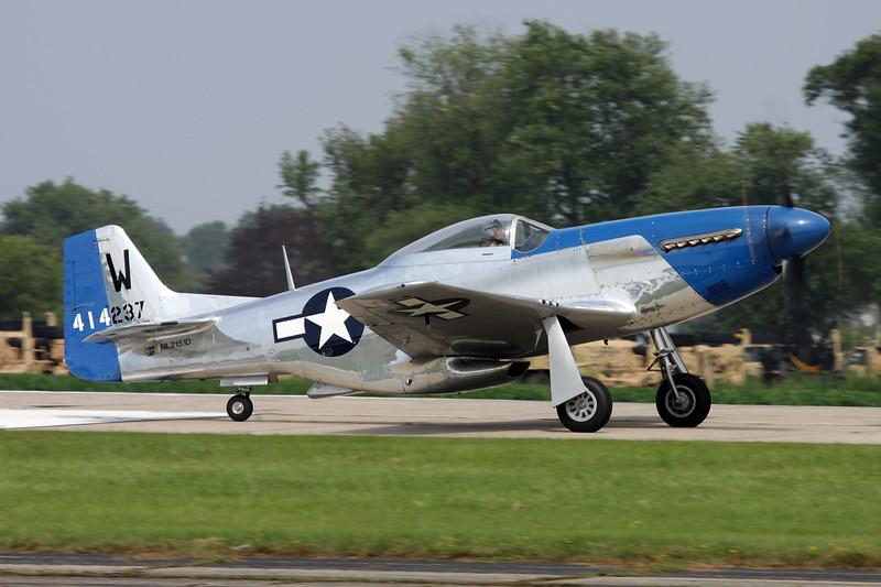 N2151D (NL2151D/HO-W/414237) North American P-51D Mustang c/n 122-40196 Oshkosh/KOSH/OSH 27-07-10