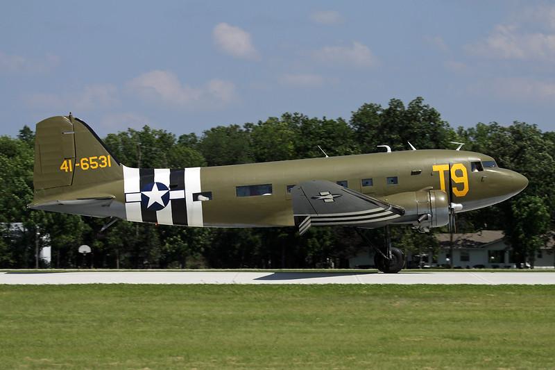 N87745 (41-6531) Douglas DC-3 C-49J c/n 6315 Oshkosh/KOSH/OSH 26-07-10