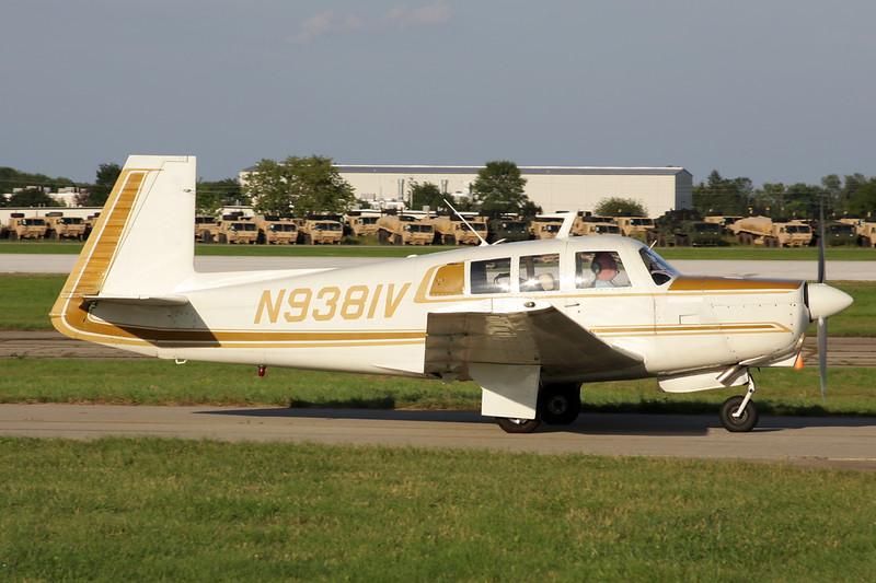 N9381V Mooney M.20G c/n 700002 Oshkosh/KOSH/OSH 26-07-10