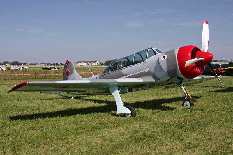 N152TD Yakovlev Yak-52TD c/n 844103 Oshkosh/KOSH/OSH 26-07-10