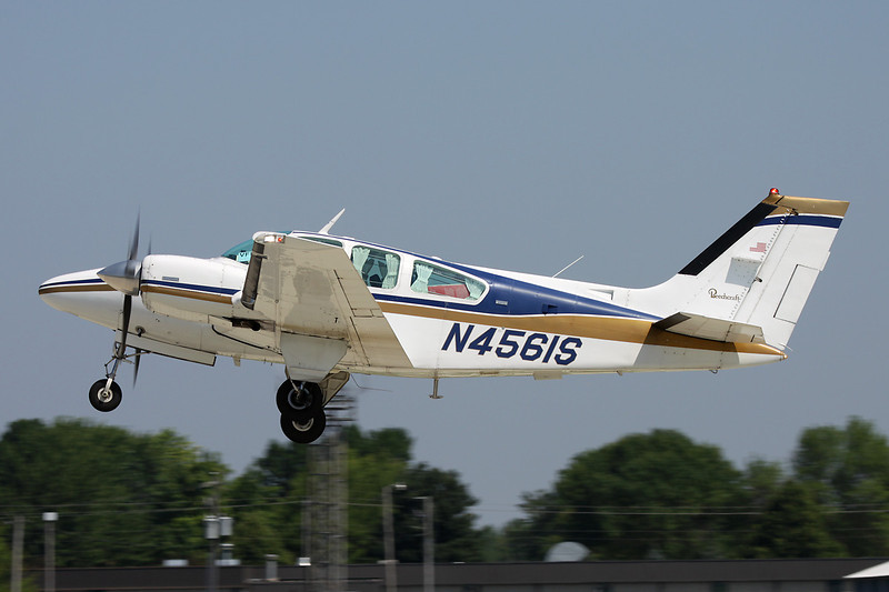 N4561S Beech B55 Baron c/n TC-1897 Oshkosh/KOSH/OSH 29-07-10