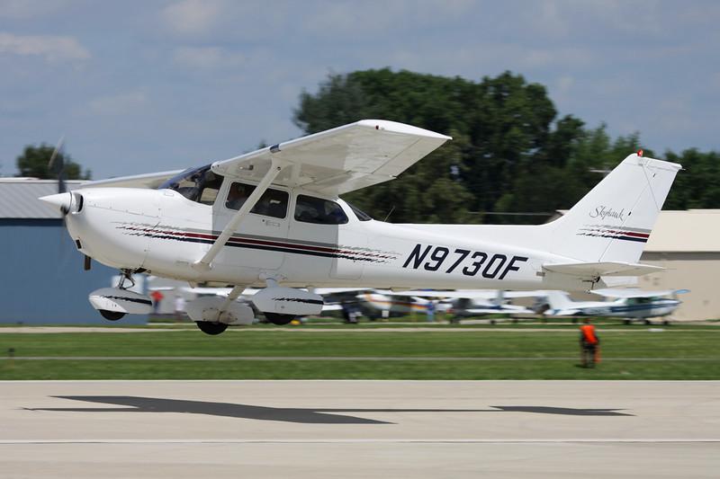 N9730F Cessna 172R c/n 172-80032 Oshkosh/KOSH/OSH 28-07-10