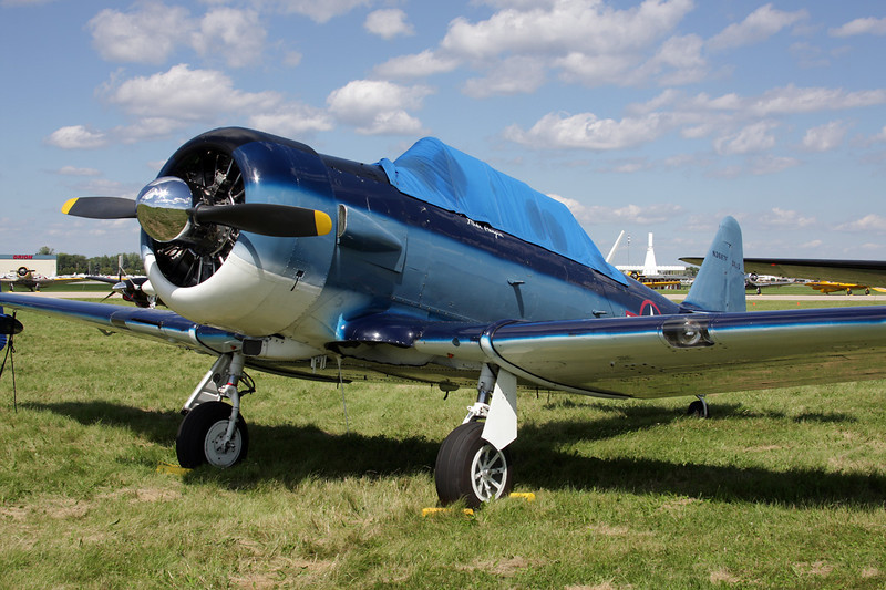 N3687F North American SNJ-5 Texan c/n 88-15902 Oshkosh/KOSH/OSH 28-07-10