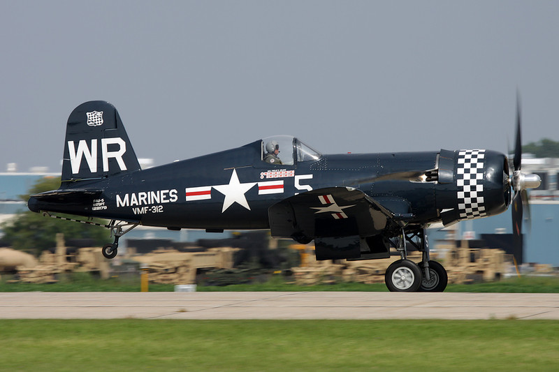 N179PT (122179/WR-5) Vought F-4U-5N Corsair c/n unknown Oshkosh/KOSH/OSH 27-07-10