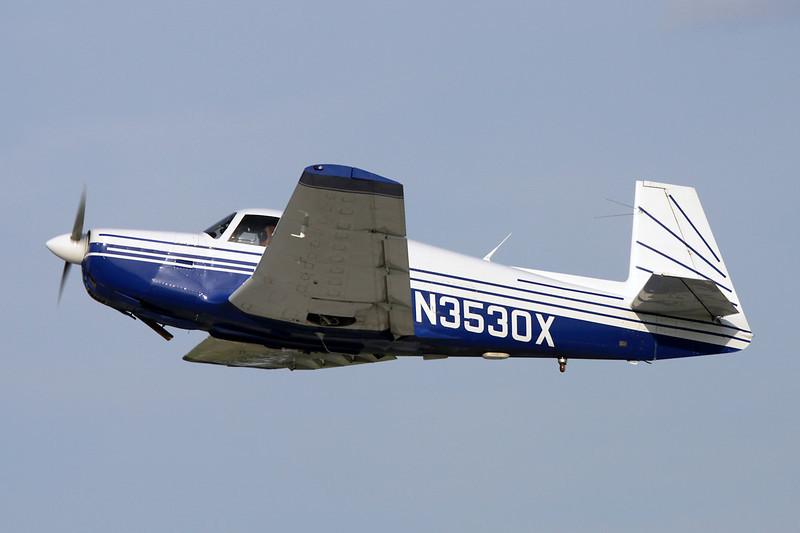 N3530X Mooney M.20F c/n 670067 Oshkosh/KOSH/OSH 29-07-10