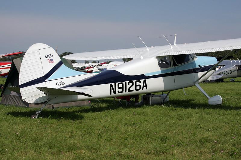 N9126A Cessna 170A c/n 19417 Oshkosh/KOSH/OSH 27-07-10