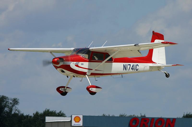 N1741C Cessna 180 c/n 30441 Oshkosh/KOSH/OSH 28-07-10