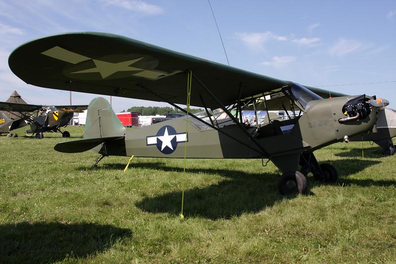 N42220 Piper J/3C 65 Cub c/n 14470 Oshkosh/KOSH/OSH 26-07-10