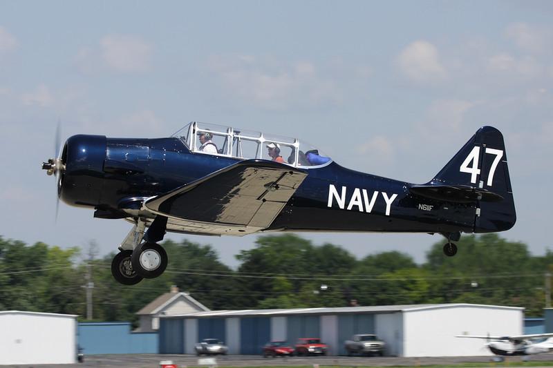 N611F (47) North American SNJ-6 Texan c/n 121-43179 Oshkosh/KOSH/OSH 28-07-10