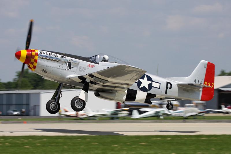 N551J (NL551J/B6-P/414937) North American P-51D Mustang c/n 122-40770 Oshkosh/KOSH/OSH 29-07-10
