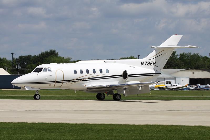 N79EH Hawker-Siddley HS.125-700A c/n 257047 Oshkosh/KOSH/OSH 28-07-10