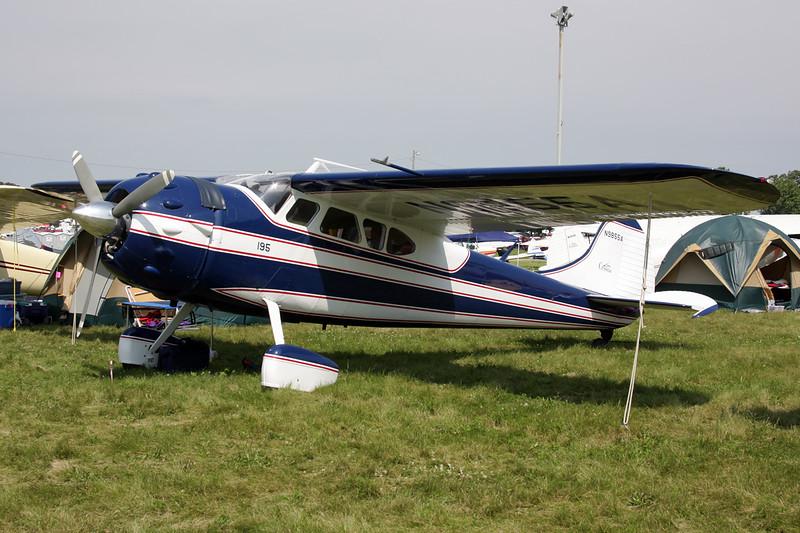 N9855A Cessna 195A c/n 7548 Oshkosh/KOSH/OSH 27-07-10
