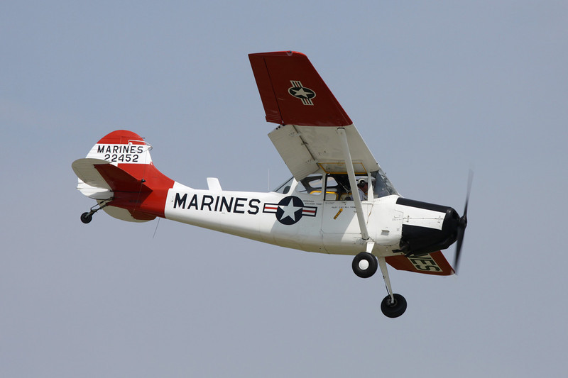 N5190G (22452) Cessna L-19A Bird Dog c/n 22452 Oshkosh/KOSH/OSH 27-07-10