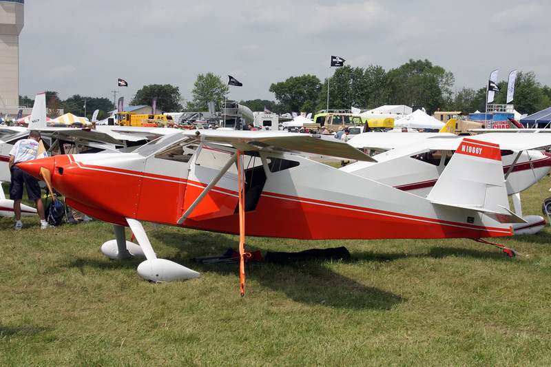 N1066Y Wittman W.10 Tailwind c/n 549 Oshkosh/KOSH/OSH 27-07-10