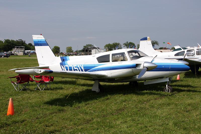 N7751Y Piper PA-30-160 Twin Comanche c/n 30-839 Oshkosh/KOSH/OSH 27-07-10
