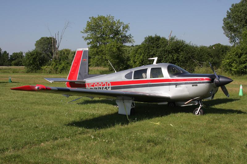 N5992Q Mooney M.20C c/n 3216 Oshkosh/KOSH/OSH 29-07-10