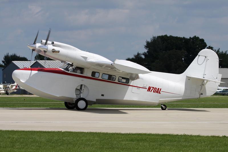N70AL Grumman Goose G-21G Turbo c/n B125 Oshkosh/KOSH/OSH 28-07-10