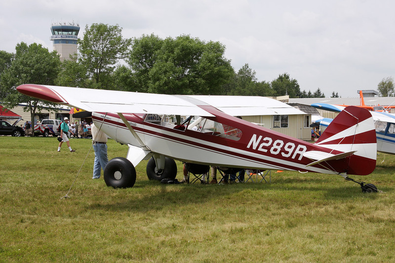 N289R R & B Aircraft Bearhawk c/n 195602 Oshkosh/KOSH/OSH 27-07-10