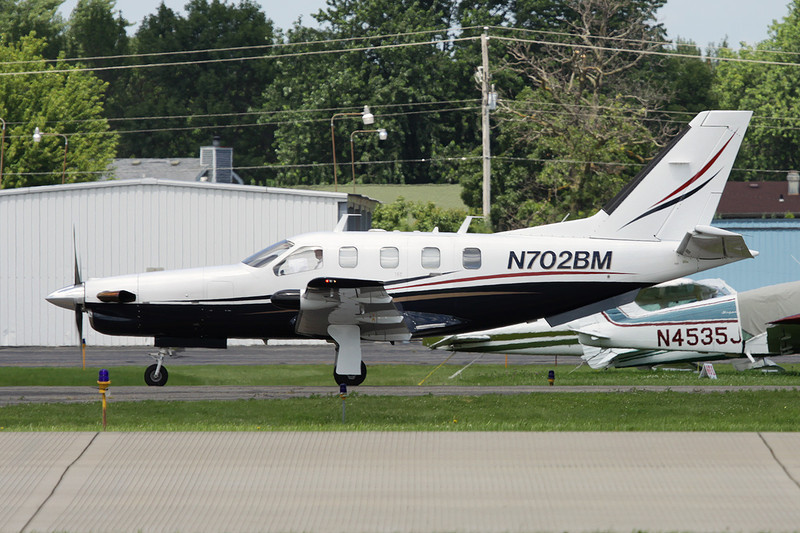 N702BM Socata TBM-700A c/n 2 Oshkosh/KOSH/OSH 28-07-10