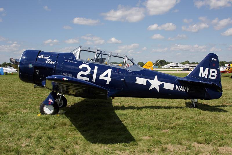 N214MB (MB-214) North American SNJ-5 Texan c/n 88-15673 Oshkosh/KOSH/OSH 28-07-10