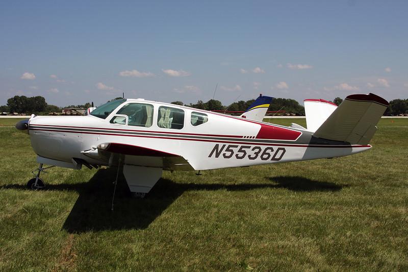 N5536D Beech H35 Bonanza c/n D-5086 Oshkosh/KOSH/OSH 26-07-10