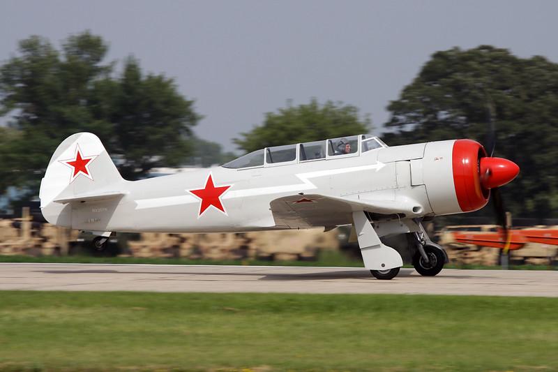 N25YK (NX25YK) Yakovlev Yak-C-11 c/n 25III/25 Oshkosh/KOSH/OSH 27-07-10