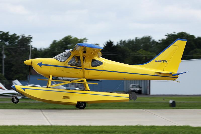 N302BM Stoddard-Hamilton Glasair Sportsman GS-2 c/n 7283 Oshkosh/KOSH/OSH 28-07-10