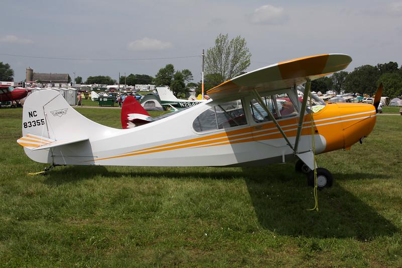N83355 (NC83355) Aeronca 7AC Champion c/n 7AC-2022 Oshkosh/KOSH/OSH 27-07-10