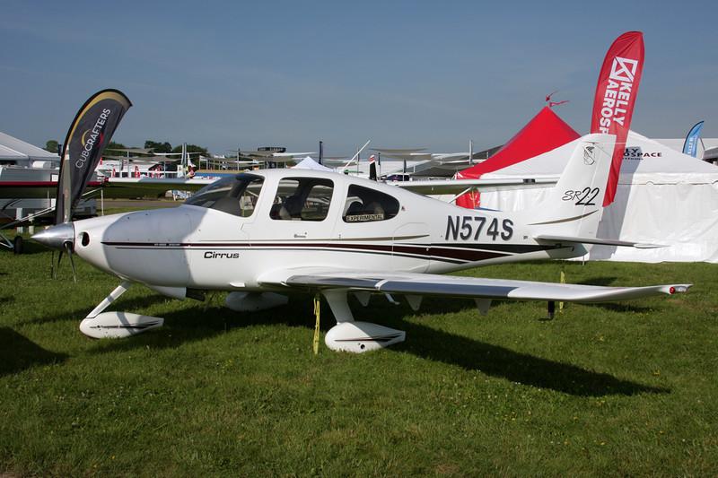 N574S Cirrus Design SR-22 c/n 0343 Oshkosh/KOSH/OSH 27-07-10