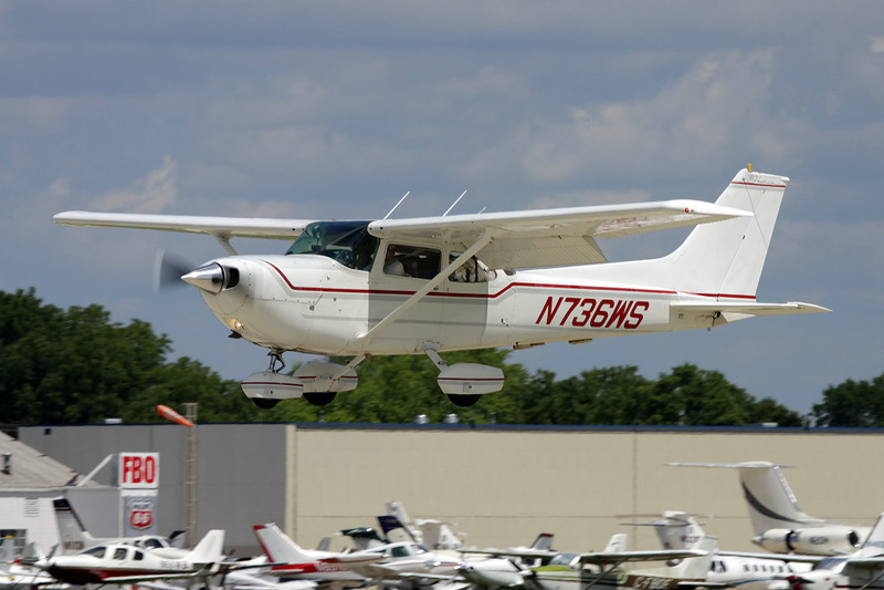 N736WS Cessna R.172K Hawk XP c/n R172-2851 Oshkosh/KOSH/OSH 28-07-10