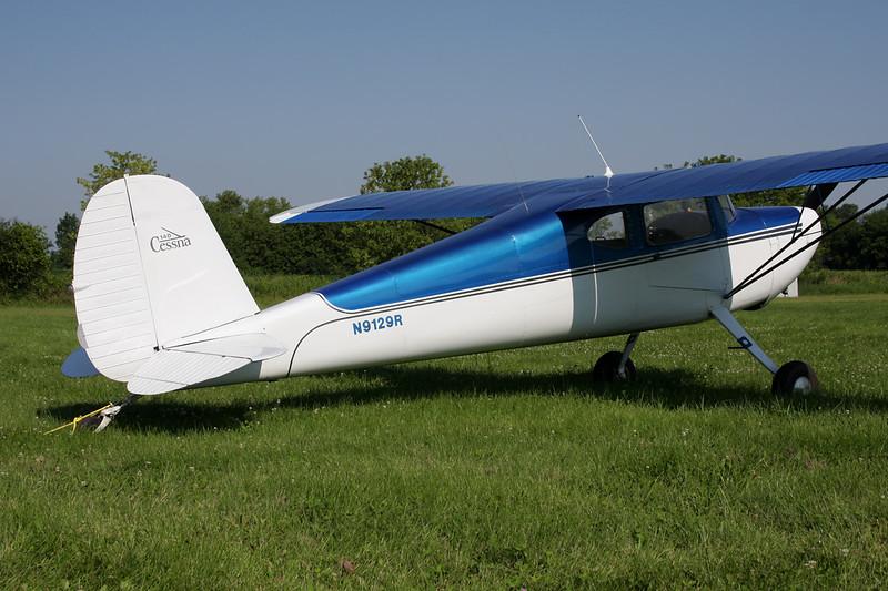N9129R Cessna 140 c/n 8601 Oshkosh/KOSH/OSH 29-07-10