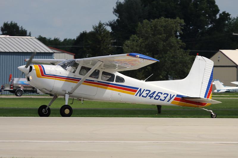 N3463Y Cessna A.185F Skywagon 185 c/n 185-02885 Oshkosh/KOSH/OSH 28-07-10