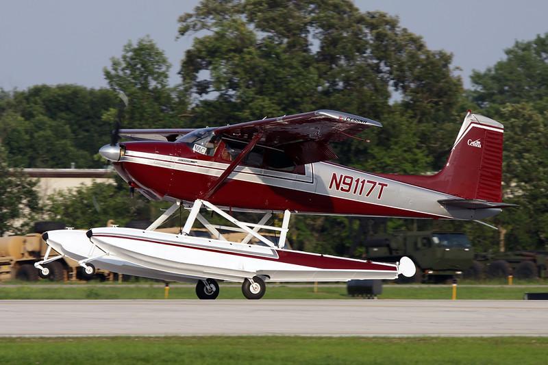 N9117T Cessna 180B c/n 50617 Oshkosh/KOSH/OSH 29-07-10