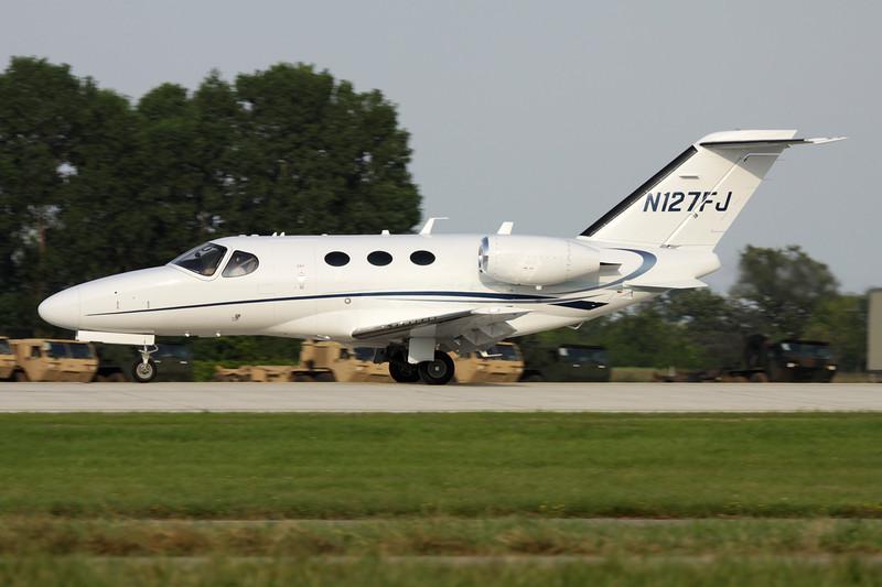 N127FJ Cessna 510 Citation Mustang c/n 510-0279 Oshkosh/KOSH/OSH 29-07-10