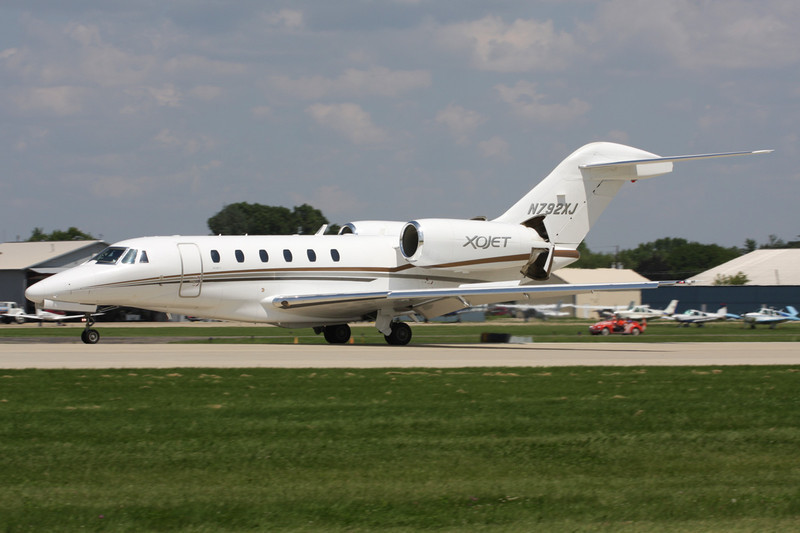 N792XJ Cessna 750 Citation X c/n 750-0292 Oshkosh/KOSH/OSH 29-07-10