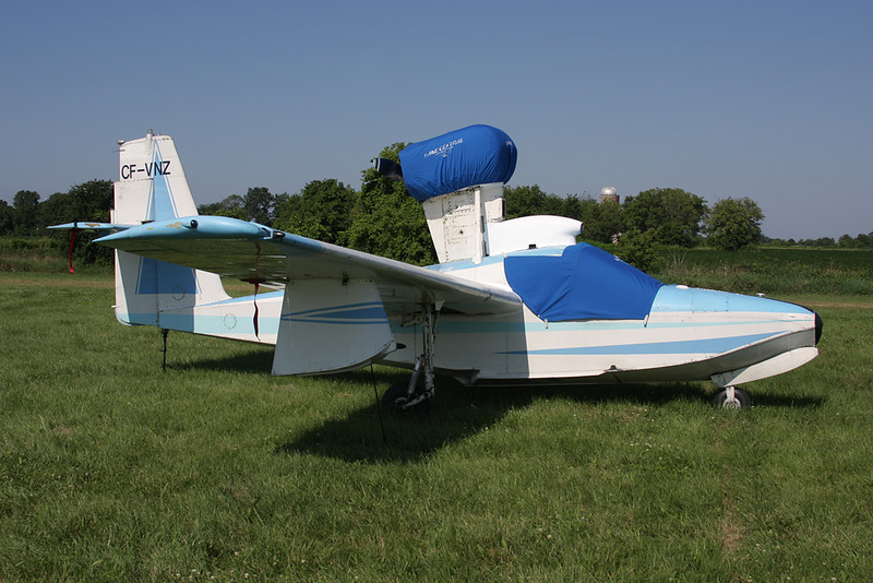 C-FVNZ (CF-VNZ) Lake LA-4-180 Buccaneer c/n 247 Oshkosh/KOSH/OSH 29-07-10