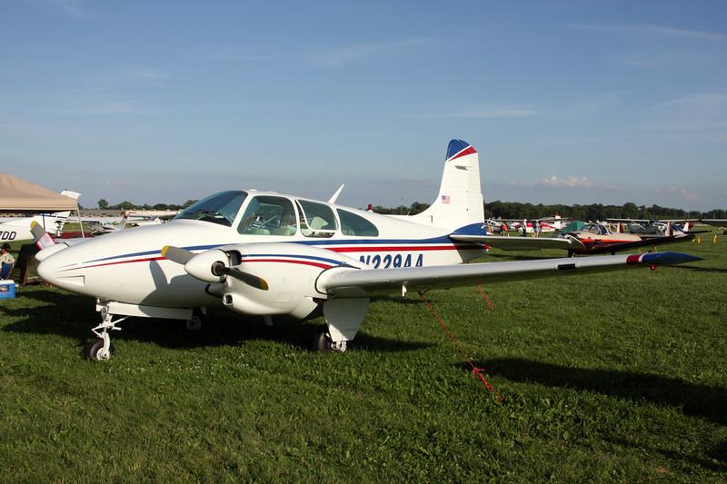 N229AA Beech D95A Travel Air c/n TD-683 Oshkosh/KOSH/OSH 26-07-10