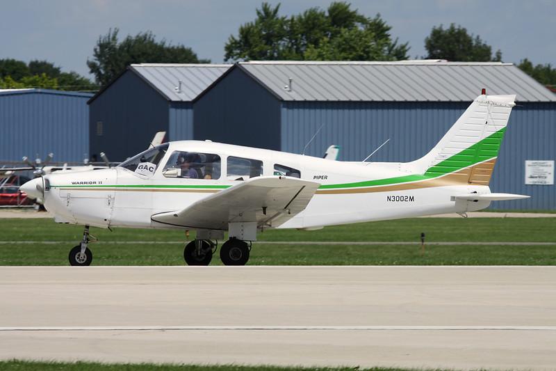 N3002M Piper PA-28-161 Warrior II c/n 28-7816327 Oshkosh/KOSH/OSH 28-07-10