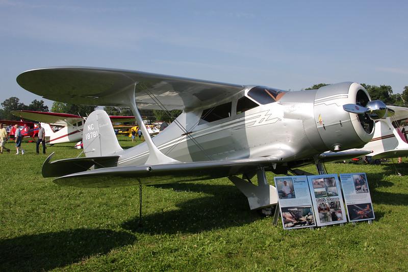 N18781 (NC18781) Beech F.17D Traveller c/n 204 Oshkosh/KOSH/OSH 27-07-10