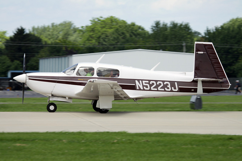 N5223J Mooney M.20K c/n 25-1172 Oshkosh/KOSH/OSH 28-07-10