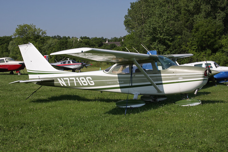 N7718G Cessna 172L c/n 172-59418 Oshkosh/KOSH/OSH 29-07-10
