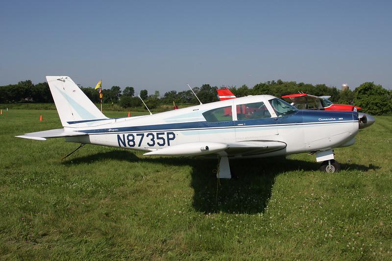 N8735P Piper PA-24-260 Comanche c/n 24-4185 Oshkosh/KOSH/OSH 29-07-10